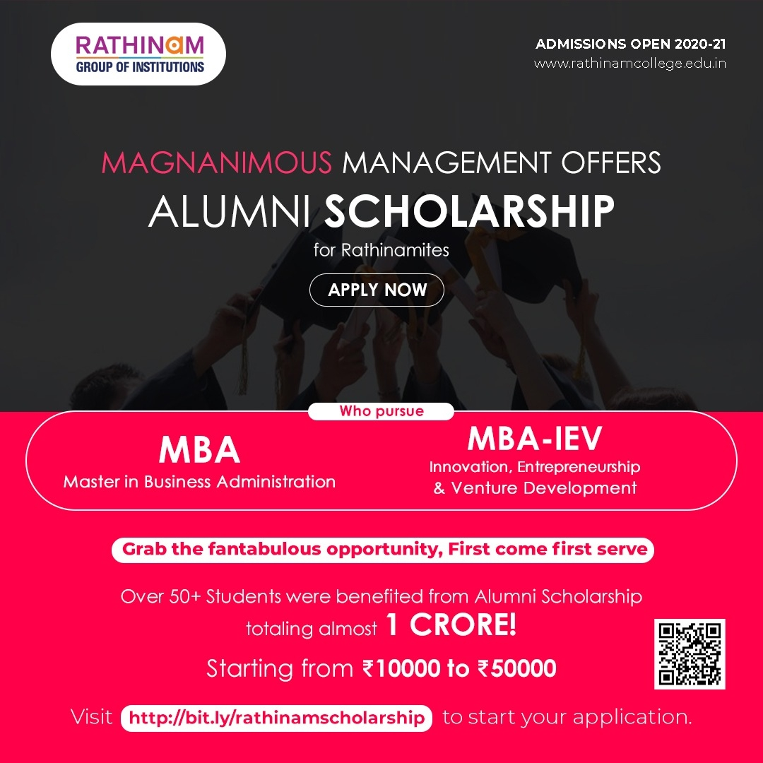 ALUMNI SCHOLARSHIP FOR MBA COURSE