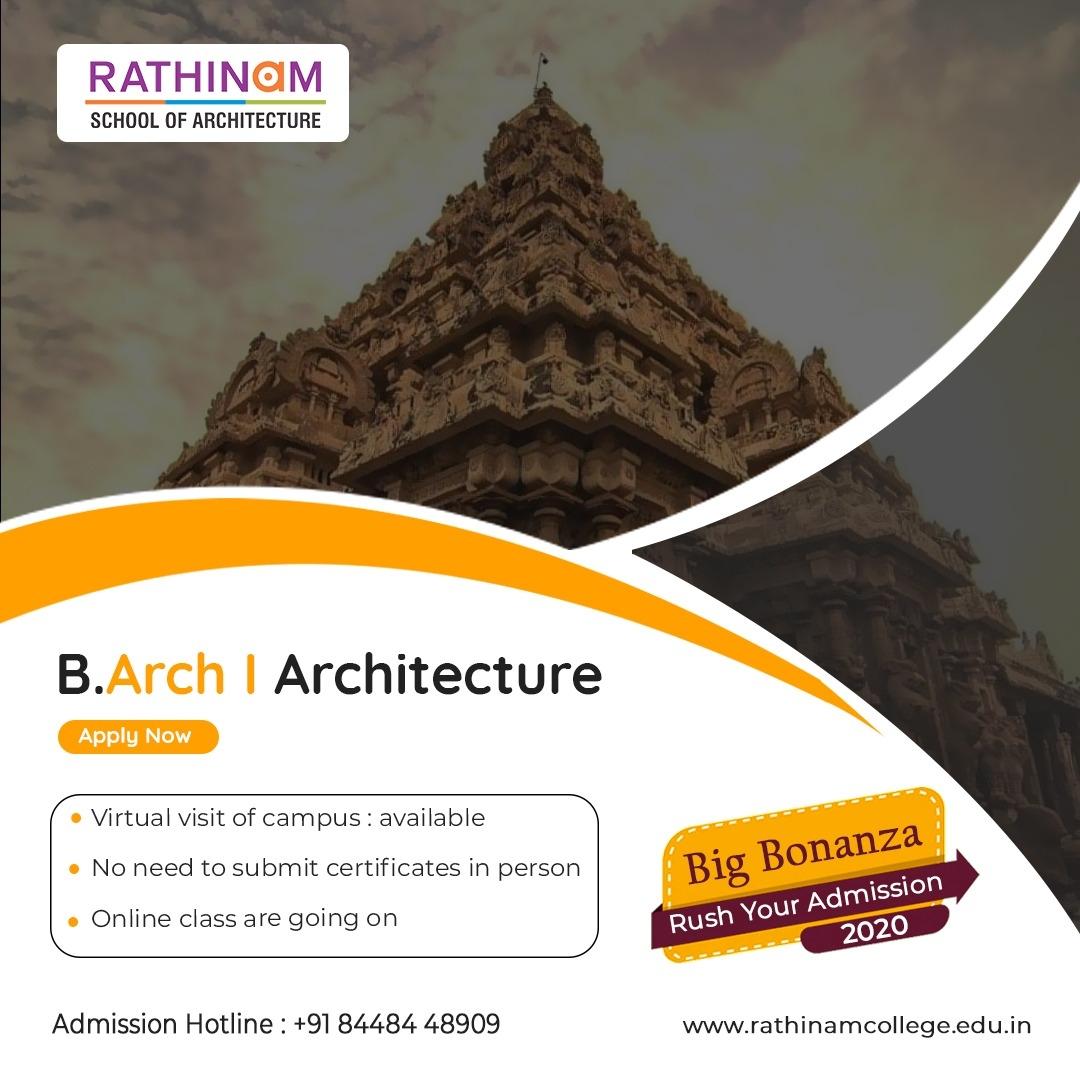 B.Arch ARCHITECTURE