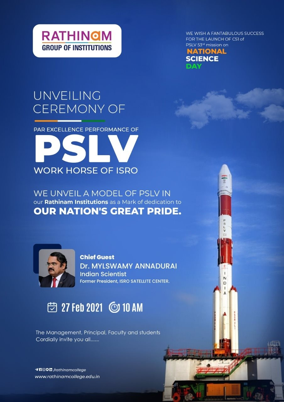 PSLV Model Unveiling Ceremony