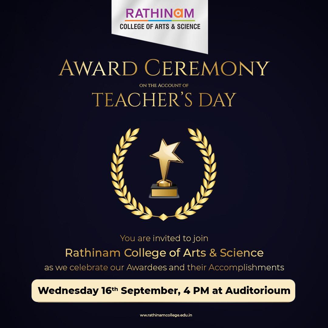 TEACHER'S DAY AWARD CEREMONY
