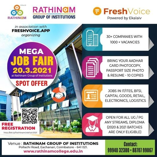 MEGA JOB FAIR 2021